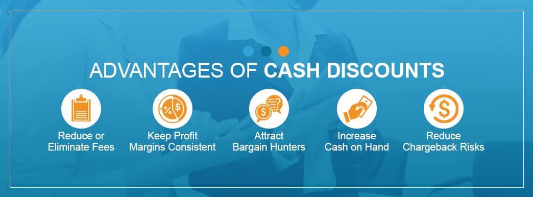 what are advantages of cash discounts